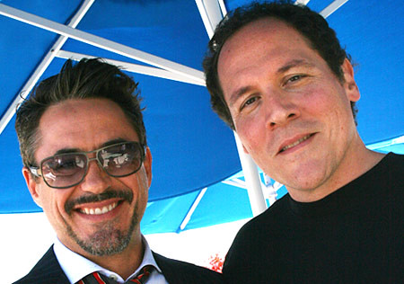 Jon Favreau & Robert Downey Jr