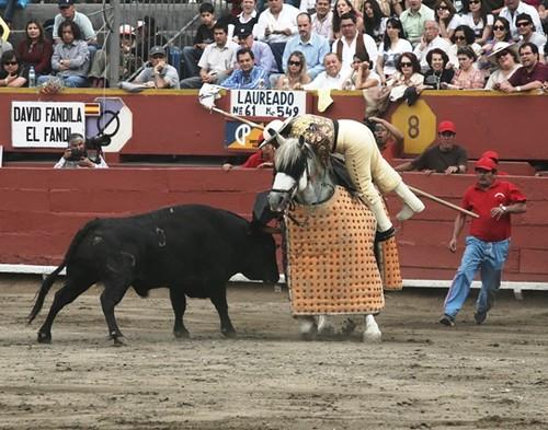 Incidente de picador español en Lima