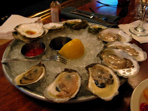 Oysters at Clyde's
