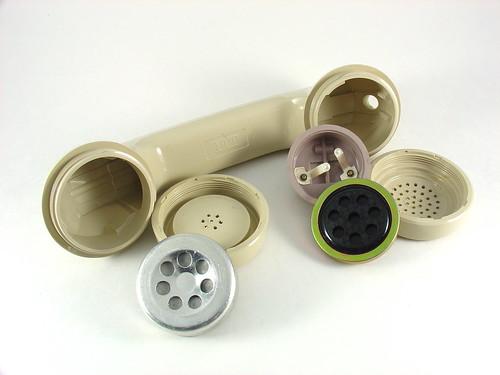 Vintage ITT Telephone Handset