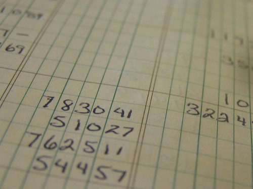 Accounting Ledger by Flickr user bjmccray