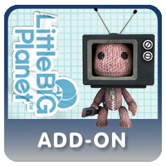 LittleBigPlanet Add On - Sack in a Box Costume