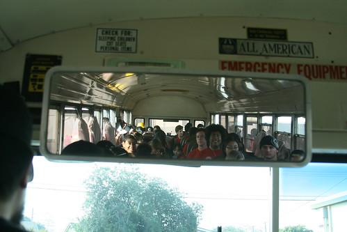 Bus mirror