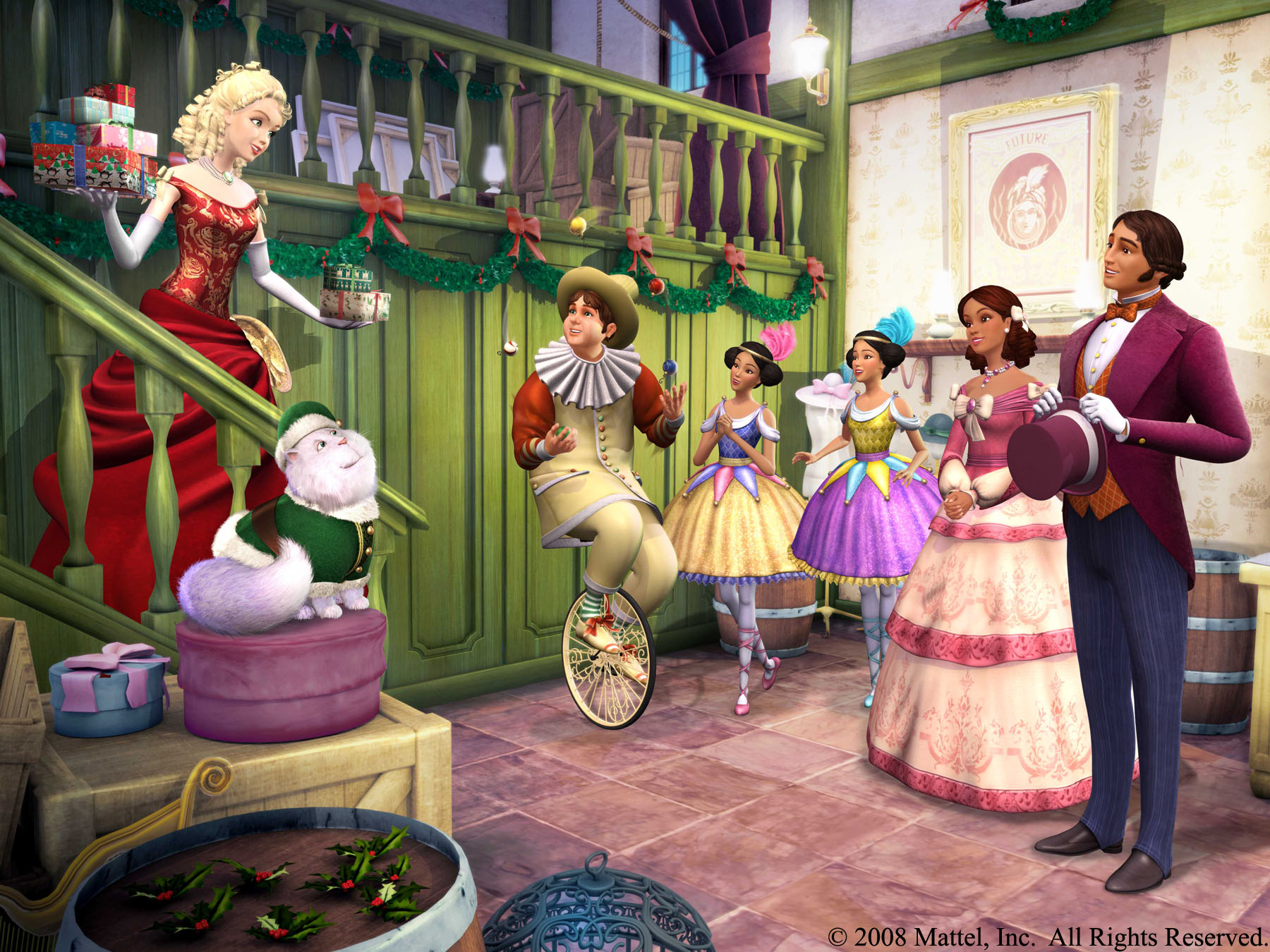 Barbie In A Christmas Carol Cartoon