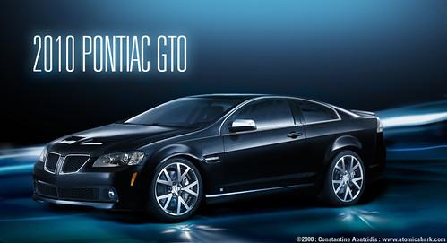 2010 Pontiac GTO concept