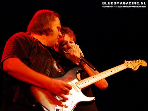 Walter Trout & Jason Ricci @ Tivoli, Utrecht (23 November 2008)