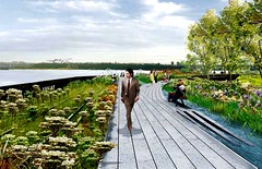 NYC's High Line, as shown by Landscape+Urbanism (by: metropolis, via L&A)