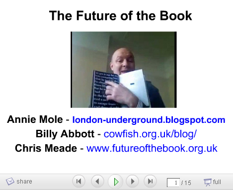 Future of the Book Slides