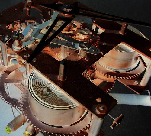 Mechanical clock guts