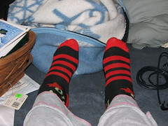 Stripey Socks Closer