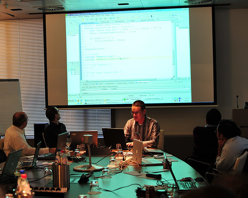 Maarten Balliauw demonstrates PHPExcel API in action