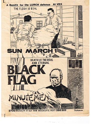 Black Flag at The Vex Club East Los Angeles 1980