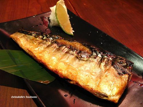 和民居食屋鹽燒鯖魚