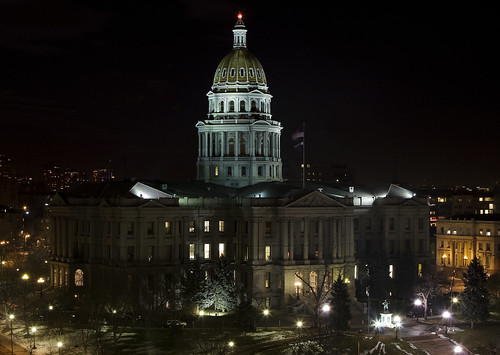 Denver in the Dark: Capitol Building