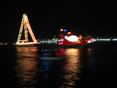 Marina del Rey Holiday Boat Parade, 2008