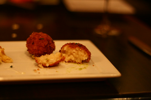 Tuscan Rice and Parmasean Croquettes