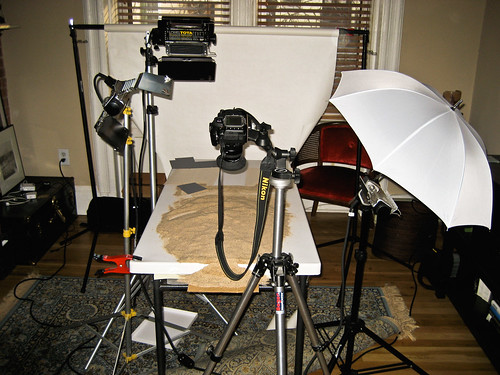 Behind the Scenes #4, Ghetto Photo Studio