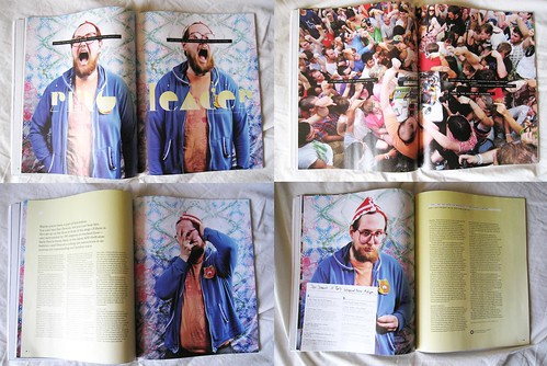 my Dan Deacon 8 page spread in XLR8R.