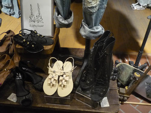 Ann Demeulemeester knock off shoes marc jacobs bow sandals lace up boots