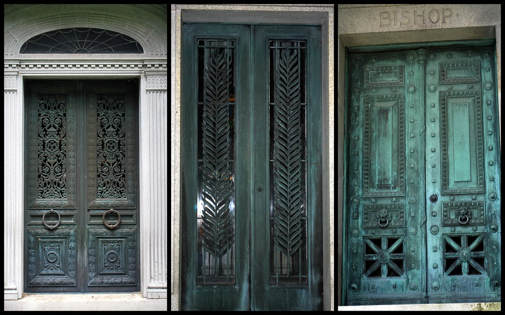 Sleepy Hollow Cemetery Mausoleum Doors