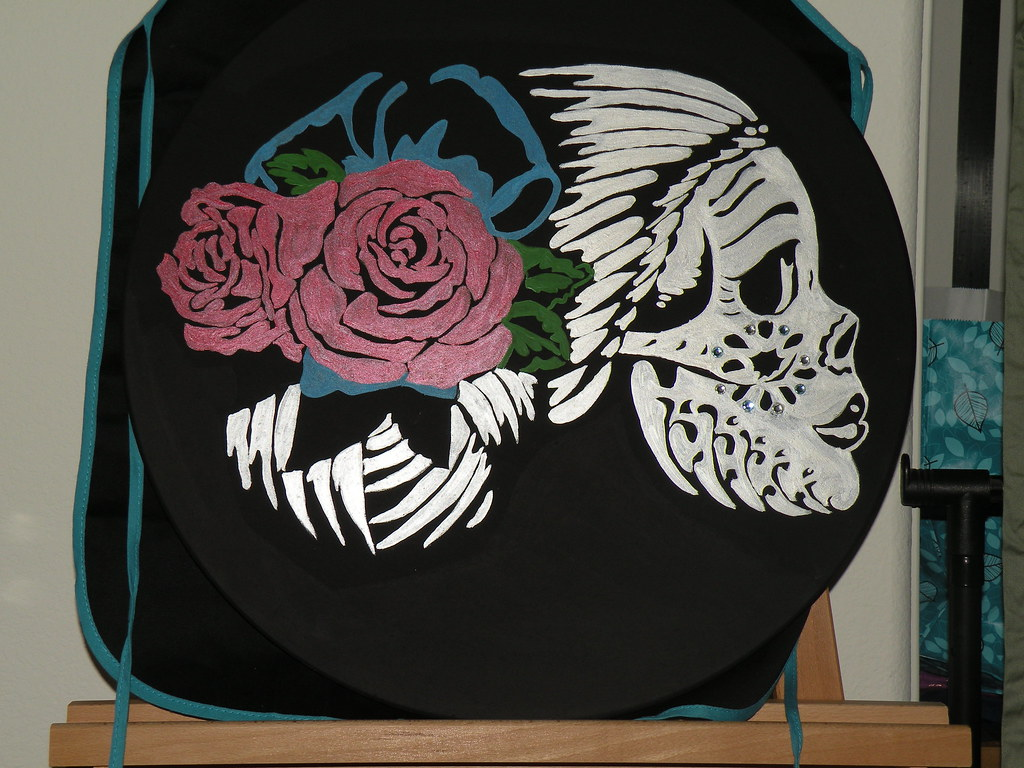 Day of the Dead face table top