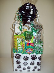Celina Bulldogs (Candy Bouquet) Tags: school colors candy gift bouquet