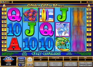 Golden Goose Crazy Chameleons slot game online review