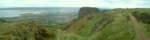 Panorama of the Cavehill, Northern Ireland