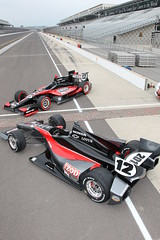 Looking down (IZOD IndyCar Series) Tags: car speed design technology racing concept chassis 2012 indycar dallara