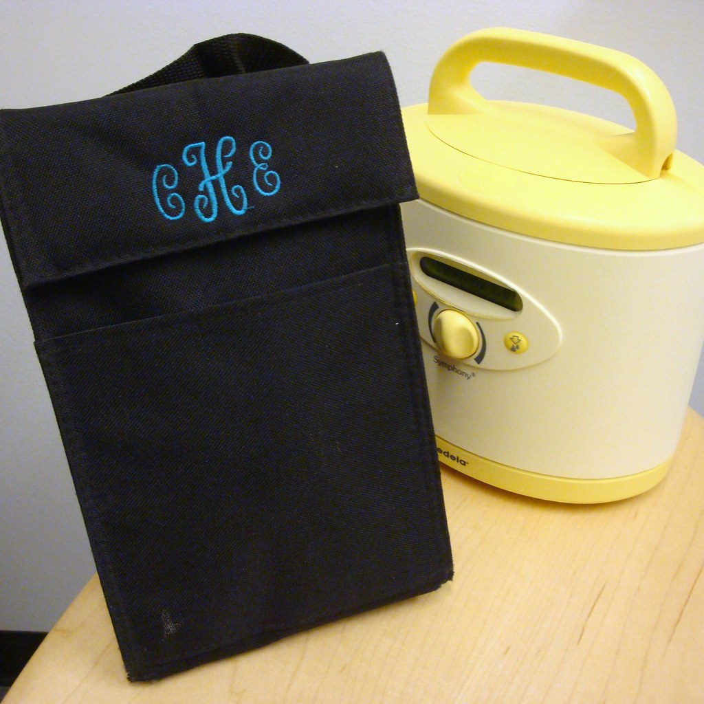 Personalized Insulated Bag perfect for transporting baby's milk