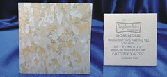 Congoleum-Nairn Dominique Vinyl Asbestos Floor Tile # VA 707 (Asbestorama) Tags: glitter vintage tile 60s floor vinyl retro safety sparkle sample translucent 1960s resilient salesman 1964 nairn asbestos covering congoleum specifier