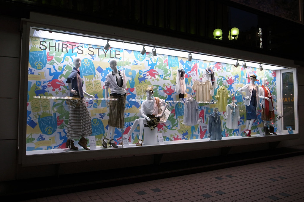 PARCO show window