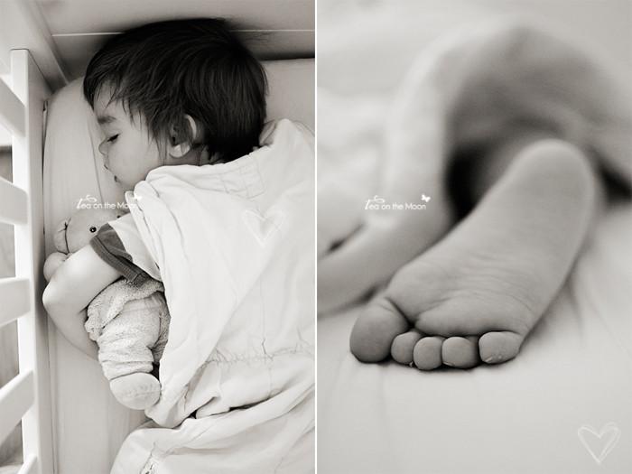 Guillem durmiendo