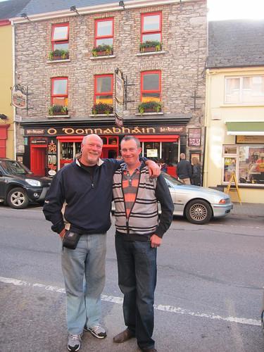Jeff and Erik at O'Donnabhain's