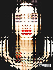 Geisha: diffracted (Village9991) Tags: madonna mother icon queen veronica luise popstar ciccone