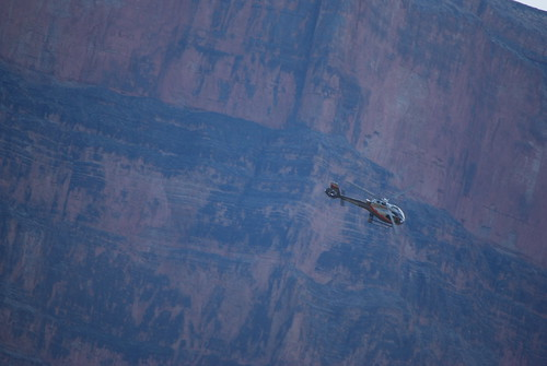 Chopper in the Canyon