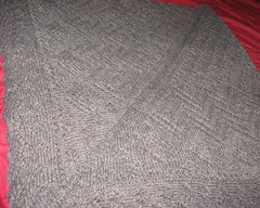 grey blanket small
