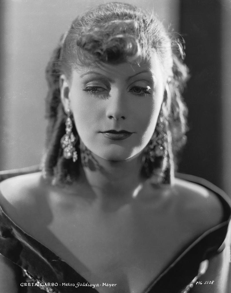 Greta Garbo Greta Romance by George Hurrell