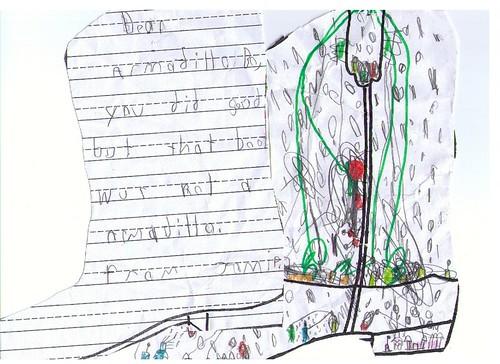 Armadillo Boy - From School