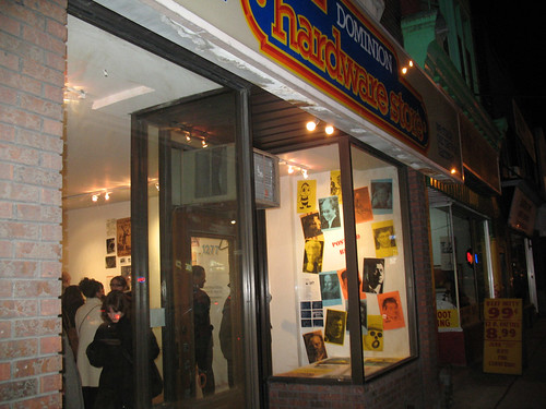 Opening Night at the Toronto Free Gallery