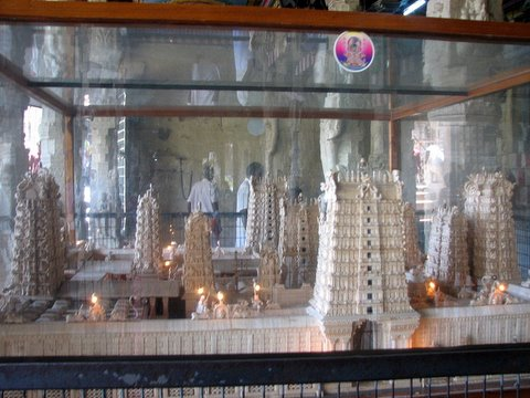 pith model of temple