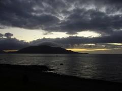 Chaiten - sunset / coucher de soleil