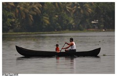 an afternoon drive.. (Naseer Ommer) Tags: kerala backwater southindia naseerommer canoneos40d backwatercruise alleppeyboatcruise mkm4
