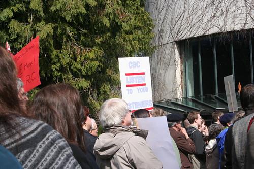 CBC Radio Orchestra Protest