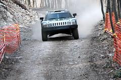 Robby Gordon (vasi v) Tags: trees paris mountains monster race woods h3 energy track european mare stage rally central special gordon dakar raid dust hummer 2008 rallye robby baia maramures