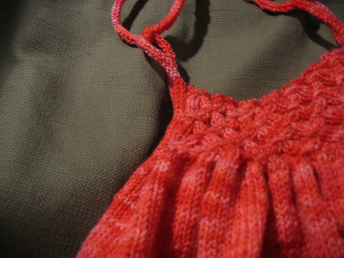Peanut's Sundress Detail