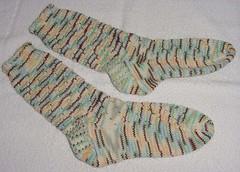 Swirly O Socks