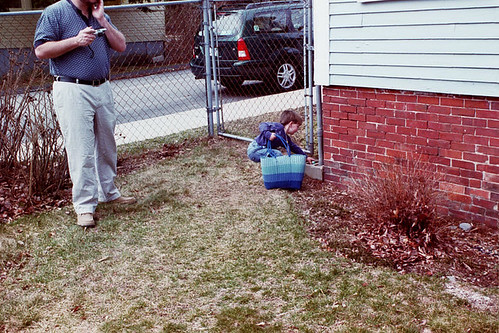 yard before, Easter 2002