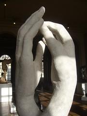 Paris - musee Rodin - mains