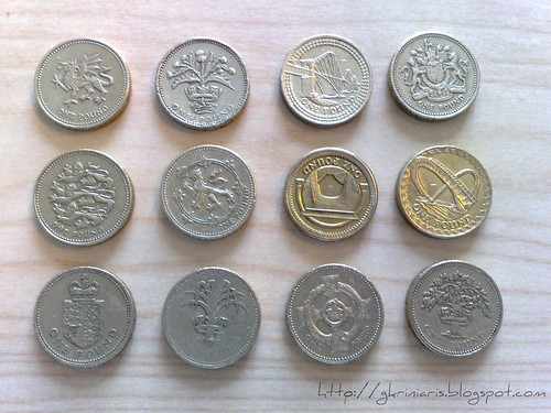 My coin collection (£1)